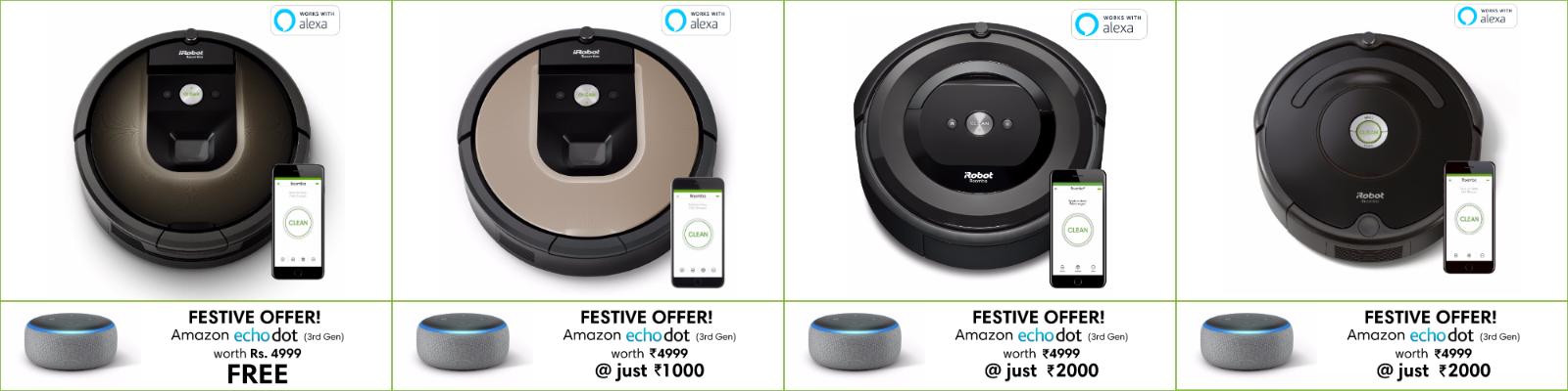 iRobot India Festive Offer 2018