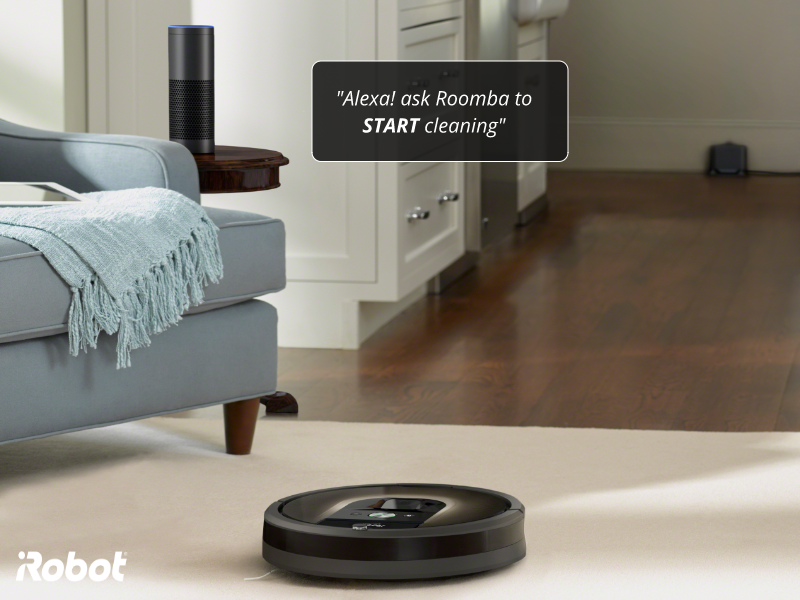 Amazon Alexa and IFTTT functionality is now active in iRobot WiFi enabled Roomba robots in India