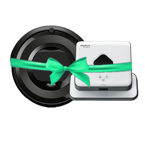 Roomba® e5 and Braava® 390t